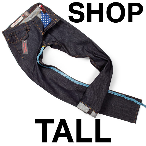 Button to shop tall mens denim - big and tall jeans