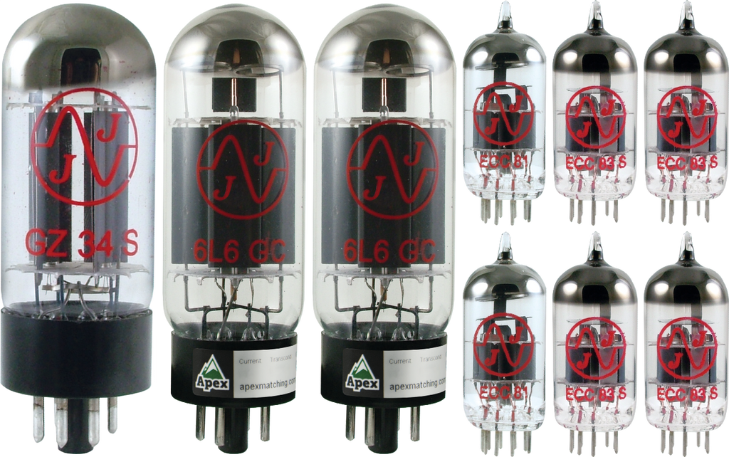 JJ / Tesla Vacuum Tube Amp Set ~ Fender Blackface Super Reverb