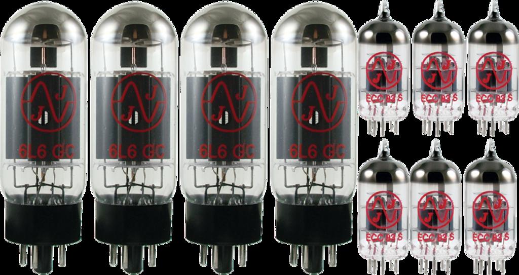 JJ / Tesla Vacuum Tube Amp Set ~ Peavey 6505+ PLUS,