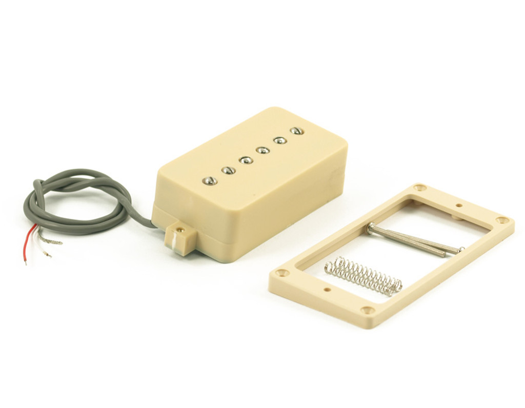Kent Armstrong® P90 Pickup ~ Convertible Humbucker Retro Fit Cream (Neck)