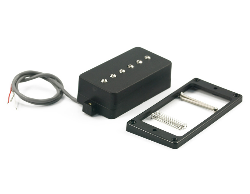 Kent Armstrong® P90 Pickup ~ Convertible Humbucker Retro Fit Black (Neck)
