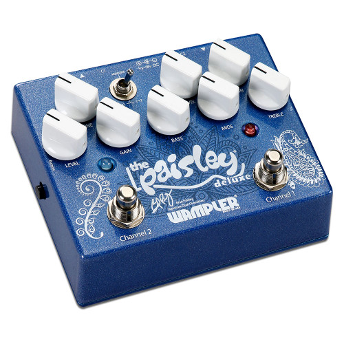Wampler 'The Paisley Drive Deluxe' ~ Double Overdrive Pedal (Paisley_Drive_Deluxe)