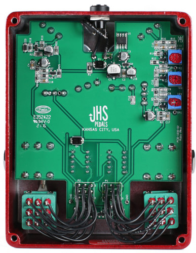 JHS Pedals ~ Ruby Red Butch Walker Signature 2-in-1 Overdrive/Fuzz/Boost