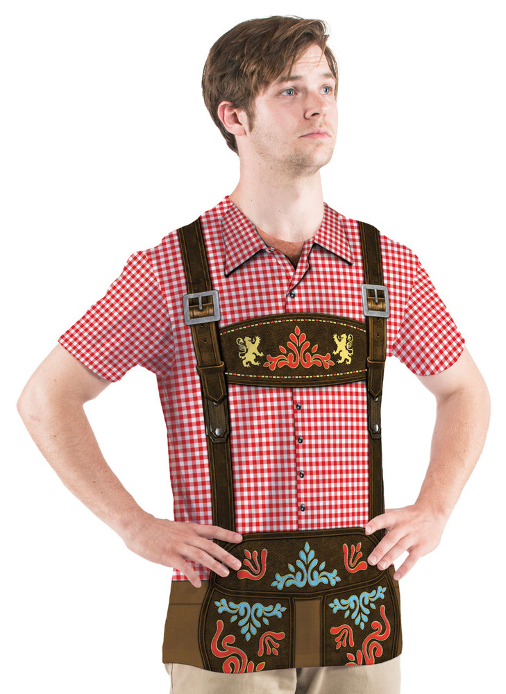 Faux Real Men's Oktoberfest - Front View