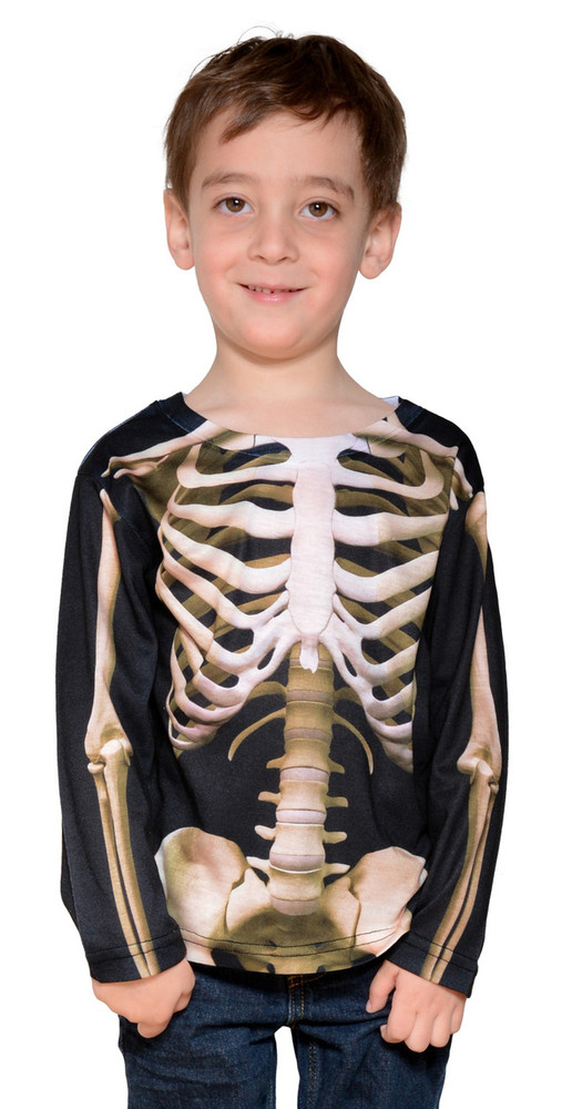 Faux Real Toddler Skeleton - Model Front View