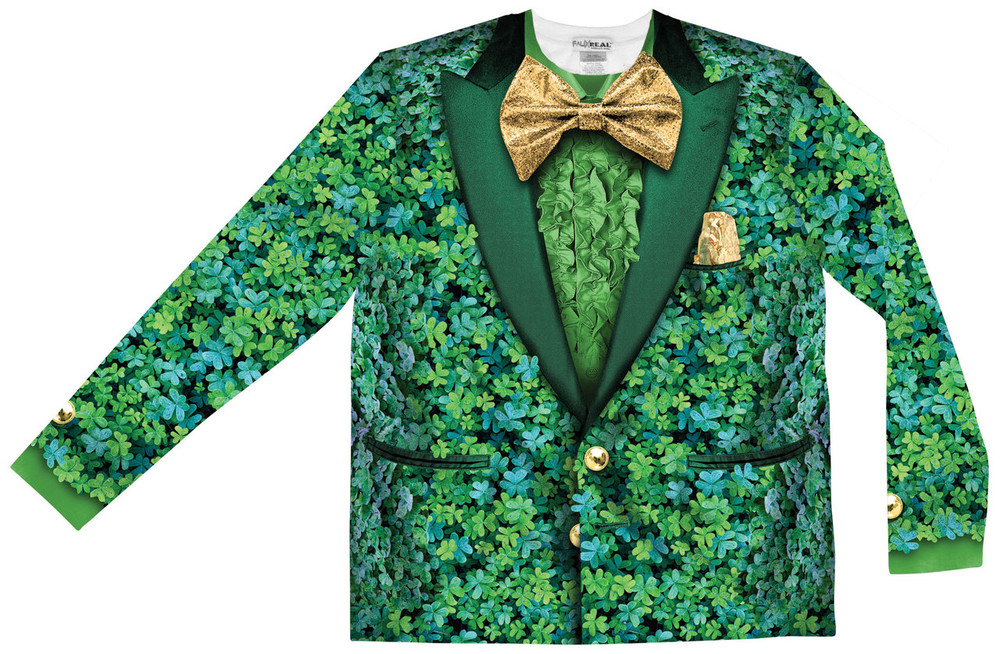 Shamrock Suit - Front View Flat
