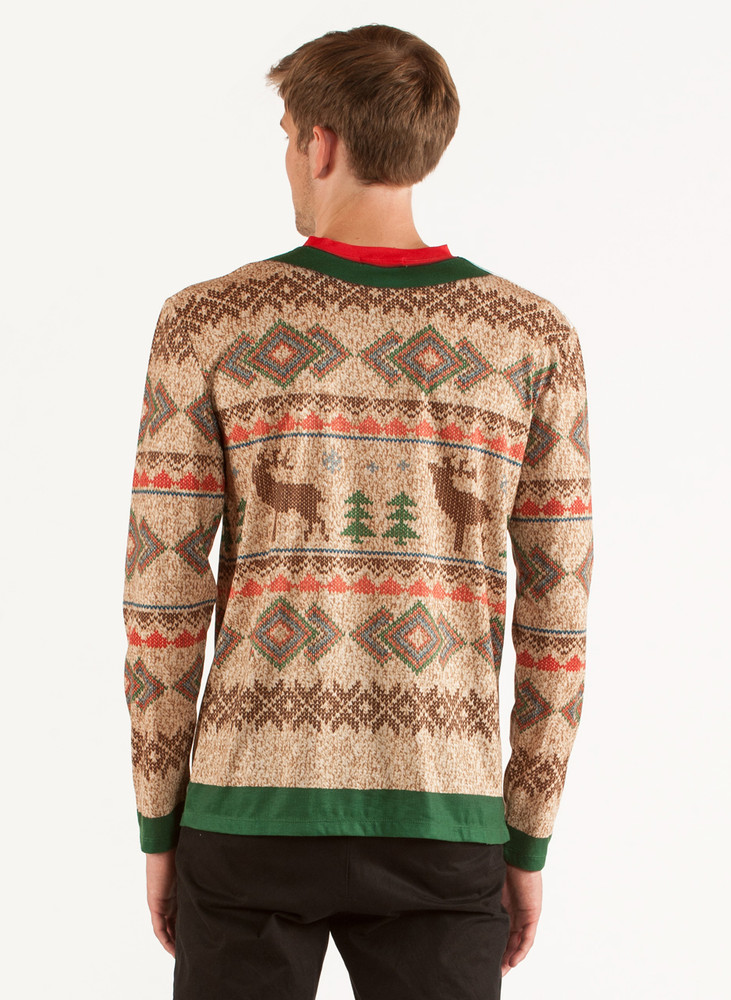 Traditional Reindeer Sweater