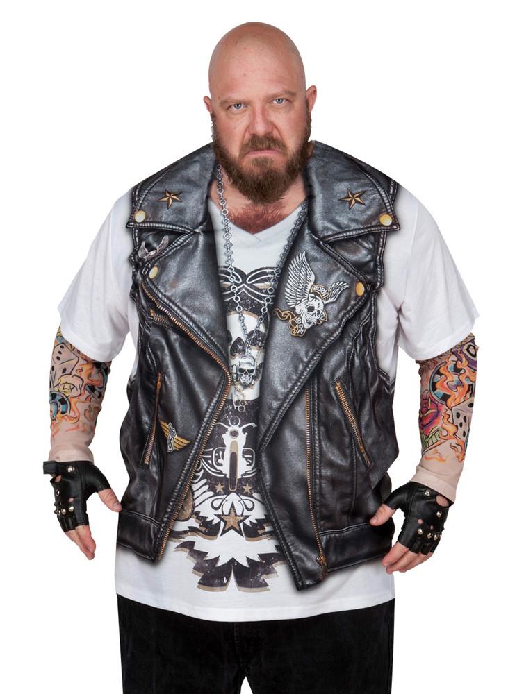 Big Size Biker Tattoo