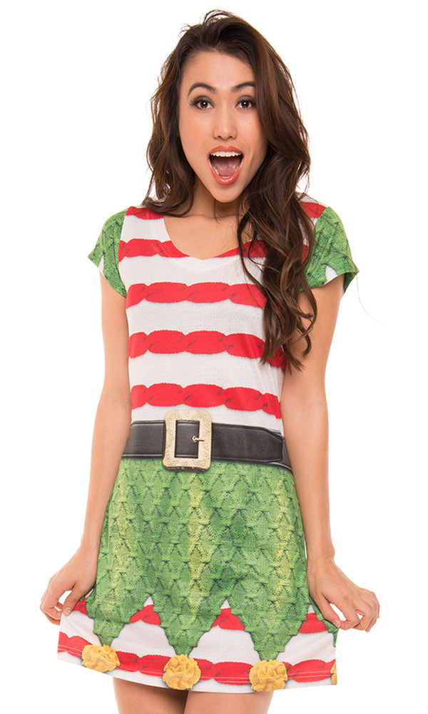 Elf Sweater Dress