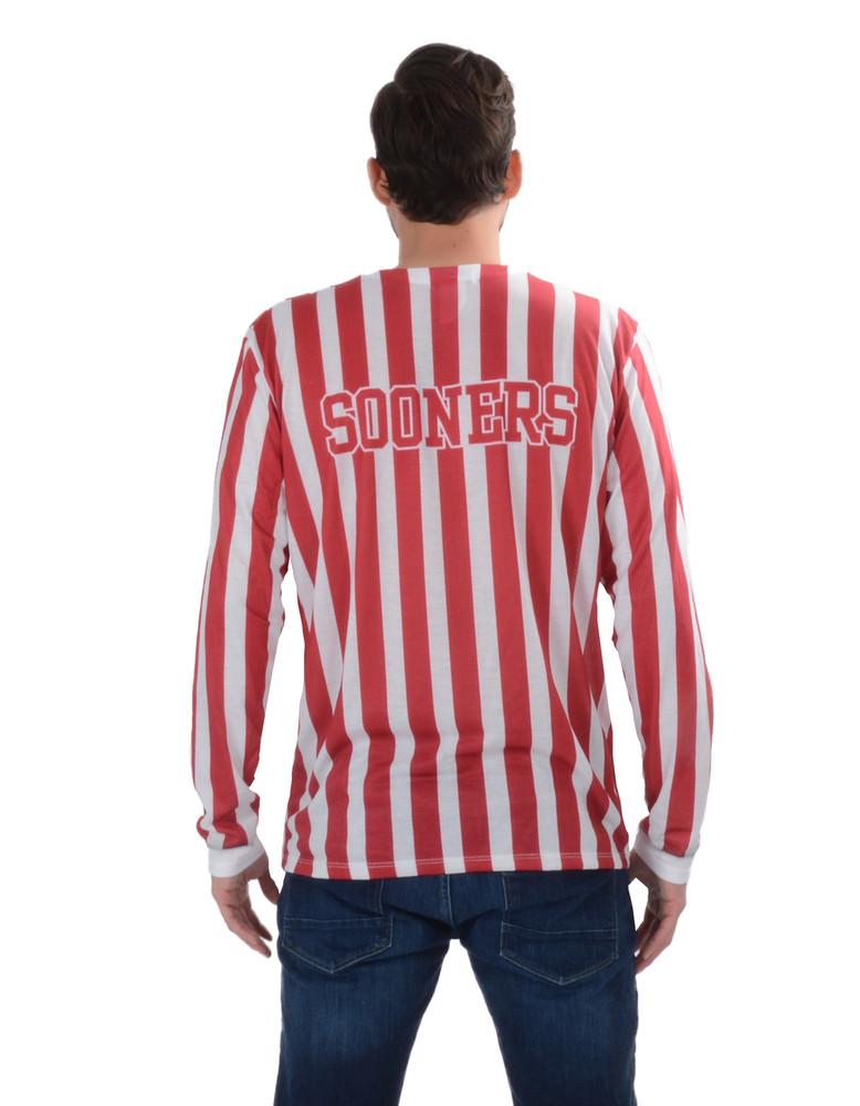 Oklahoma Sooners Striped Suit Tee