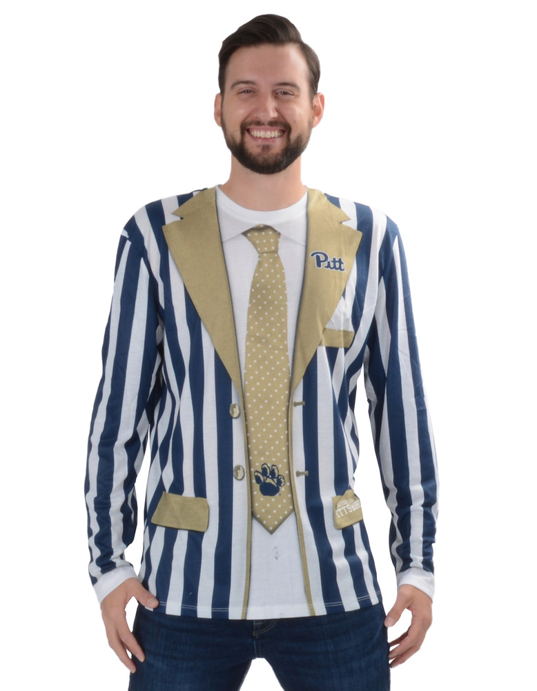 Pittsburgh Panthers Striped Suit Tee