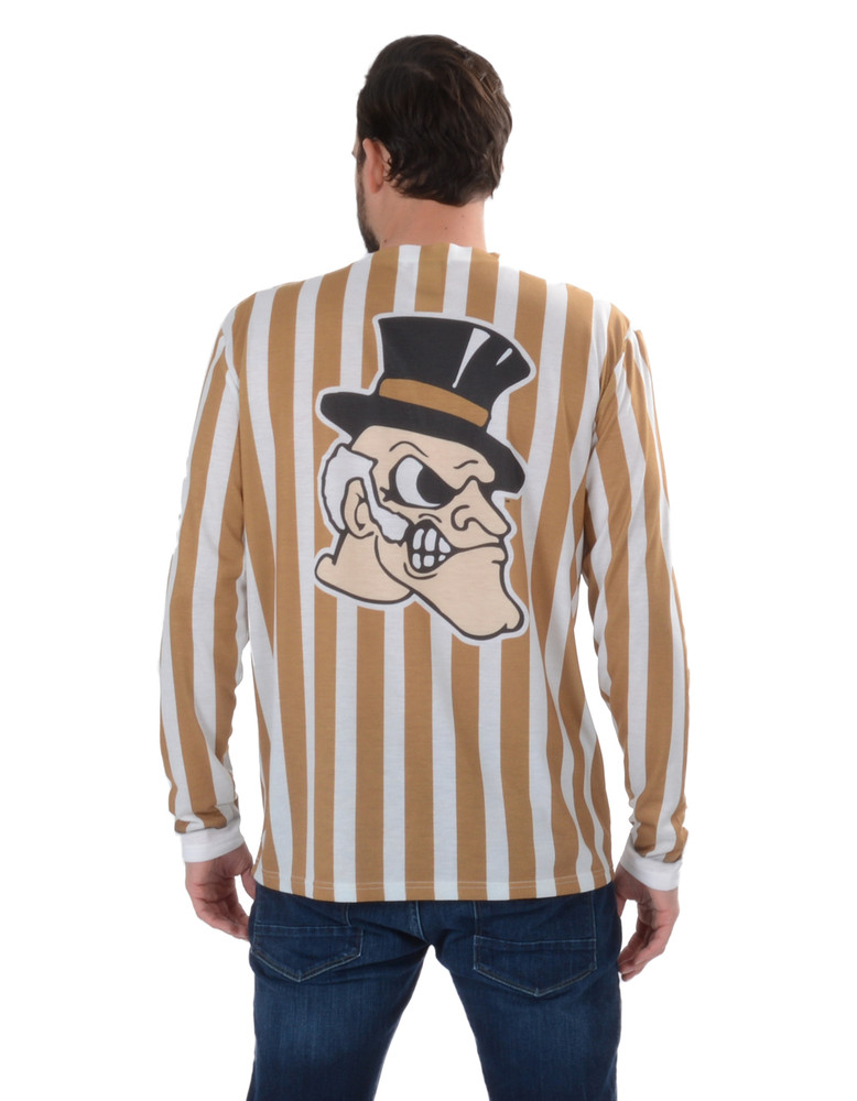 Wake Forest Demon Deacons Striped Suit Tee