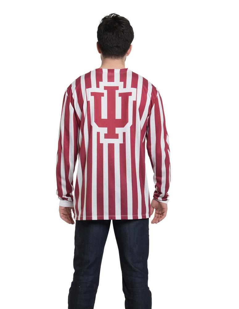 Indiana Hoosiers Striped Suit Tee