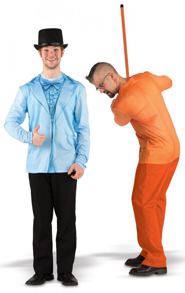 Blue and Orange Tux Combo