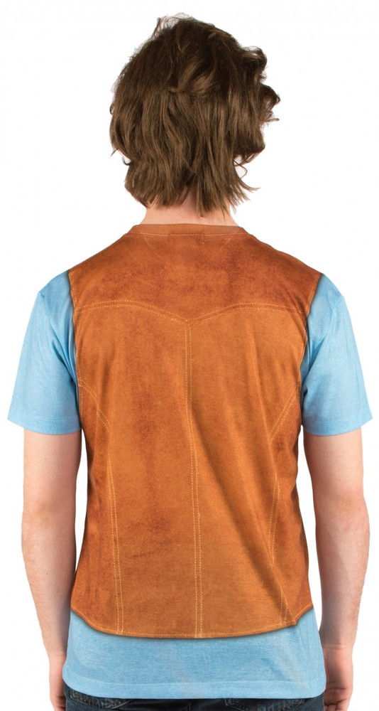 Faux Real 70's Vest Back View