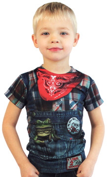Faux Real Toddler Hillbilly