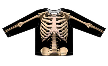 Faux Real Toddler Skeleton - Front View