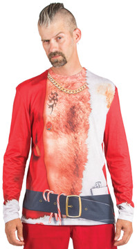 Faux Real Bad Santa T-Shirt - Front View