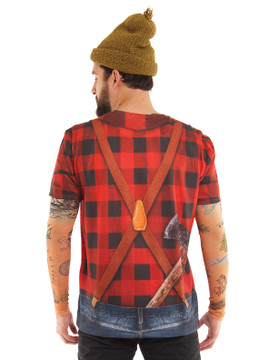 Lumbersexual w/ Tattoo