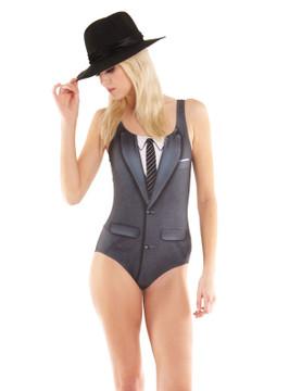 1960's Suit Bodysuit