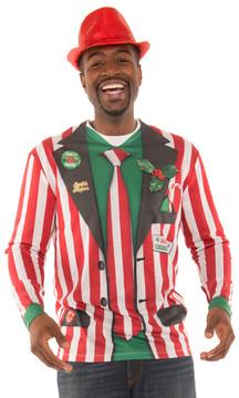 Striped Xmas Suit