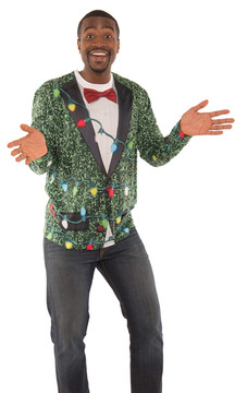 Sequin Suit with Lights