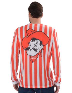 Oklahoma State Cowboys Striped Suit Tee