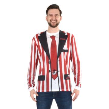 GA Bulldogs Stripe Suit