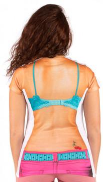 Faux Real Cupcake Bikini Back View