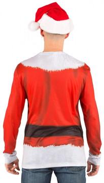 Santa Suit Back View