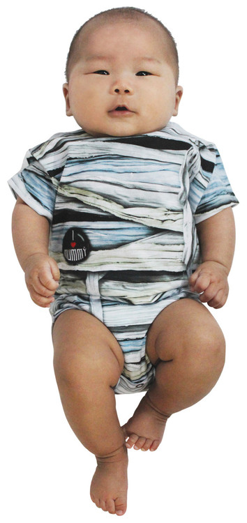 Faux Real Infant Mummy Romper