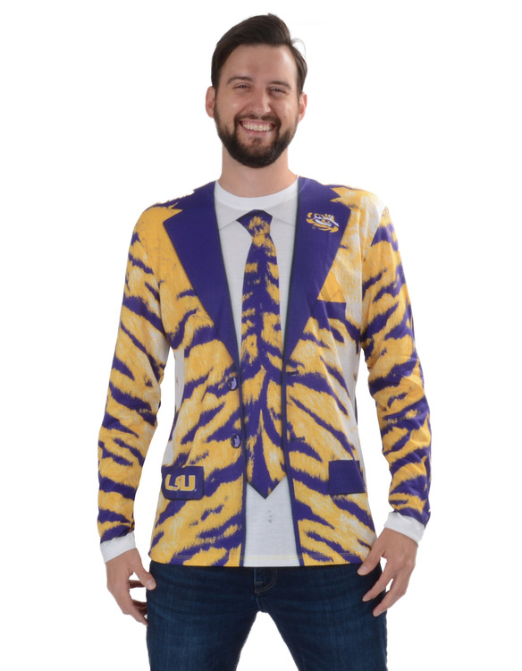 Louisiana State Univ Tiger Skin Suit Tee