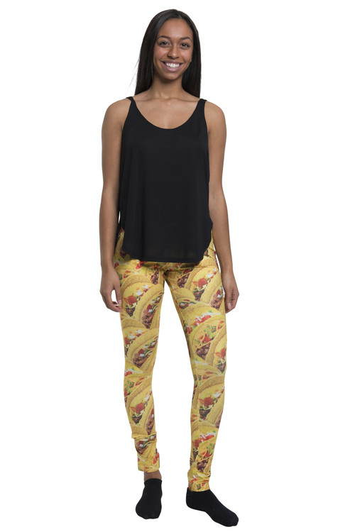 Stacked Tacos Leggings