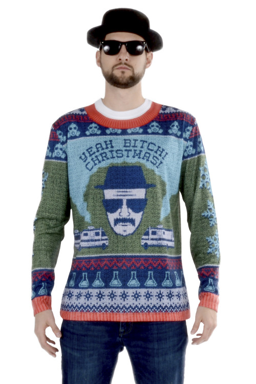 Breaking Bad Christmas Ugly Christmas Sweater Tee