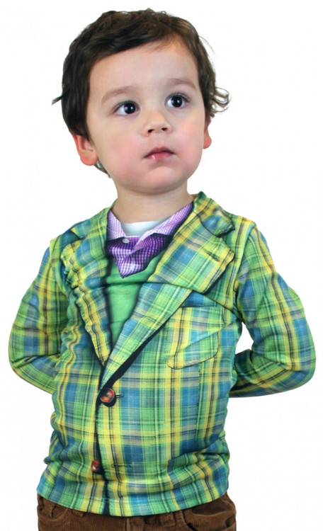 Faux Real Youth Plaid Vest