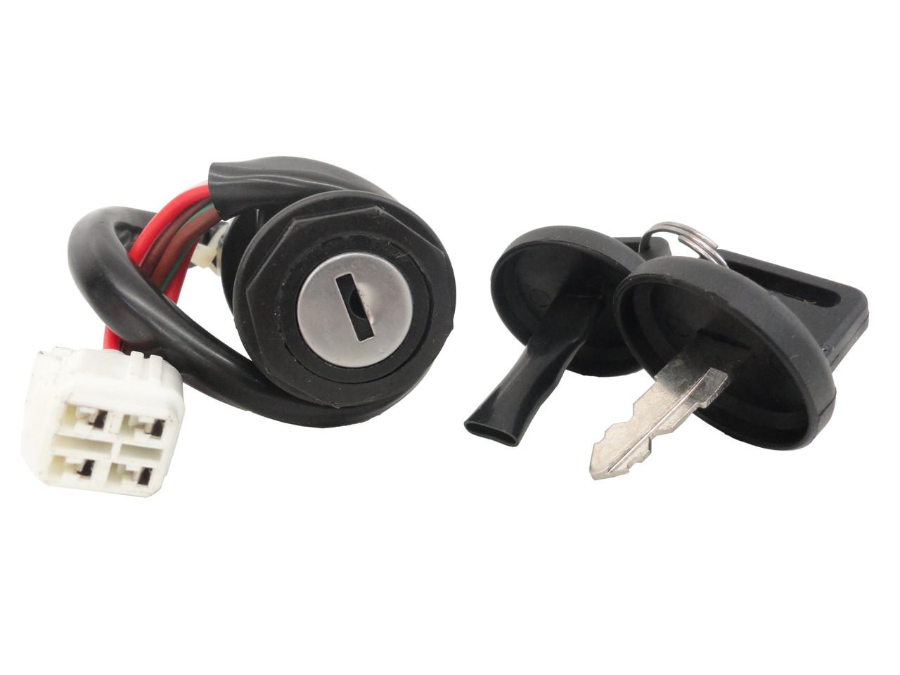 Cru Key Ignition Switch 04 09 Yamaha Yfz 450 Yfz450 Lifetime Wiring Harness Warranty Gift