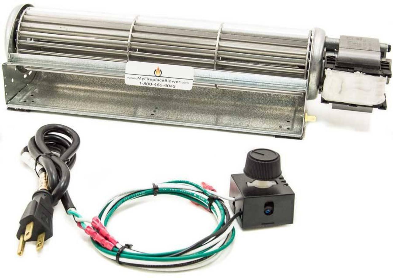 BK Fireplace Blower Fan Kit for Desa CHDV32NR gas fireplace insert