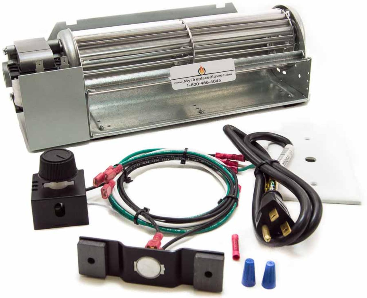 wood blower trgn k blowers woodstov universal on stove fans w tube heater kit fireplace spitfire