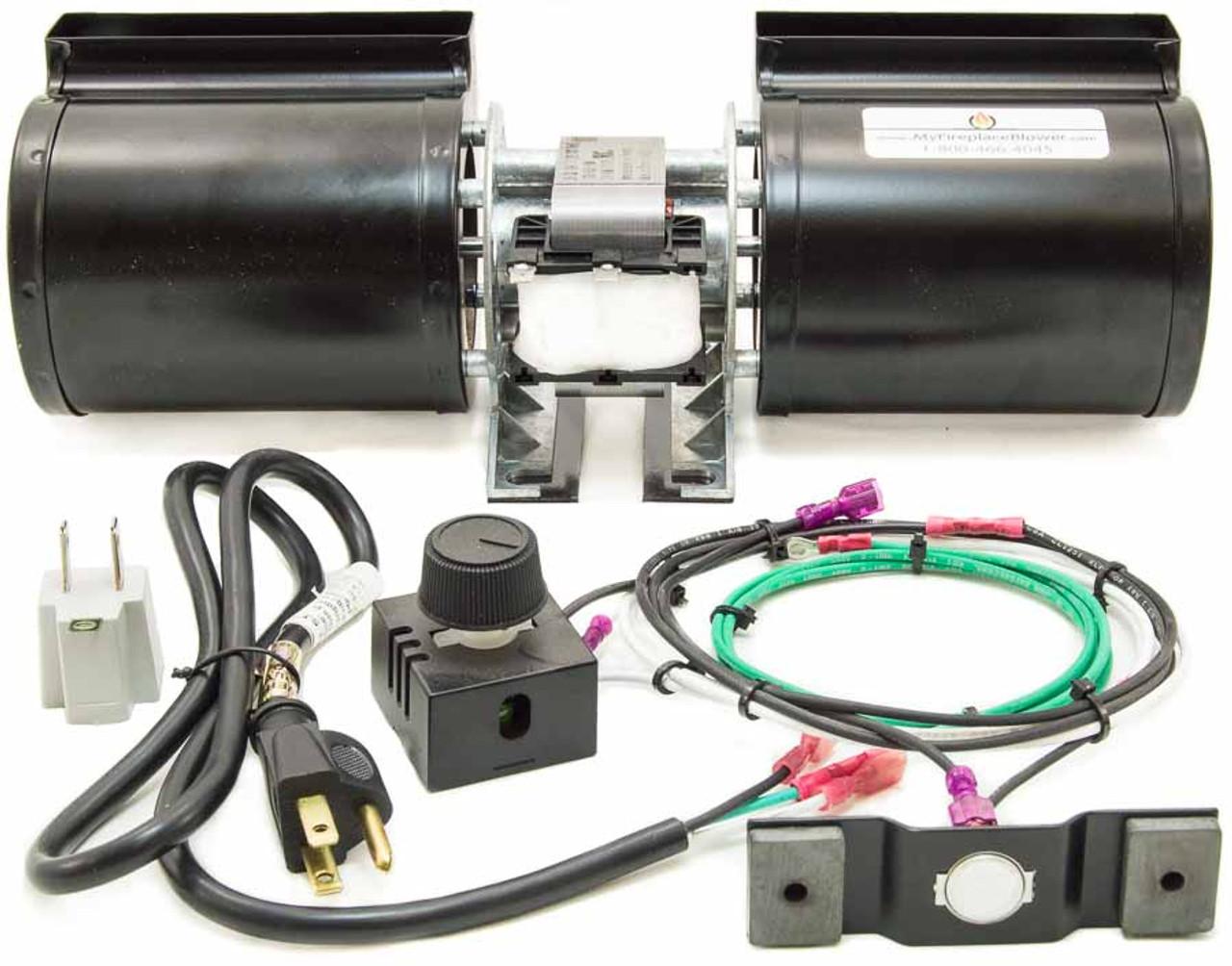 Gfk 160a Heat Amp Glo Fireplace Blower Kit 6000tr