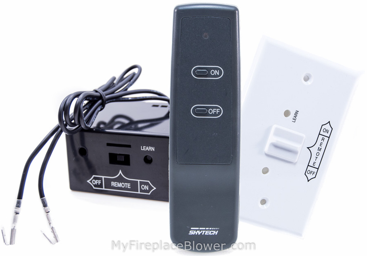 replacement skytech a info remote fireplace black in soraoto control