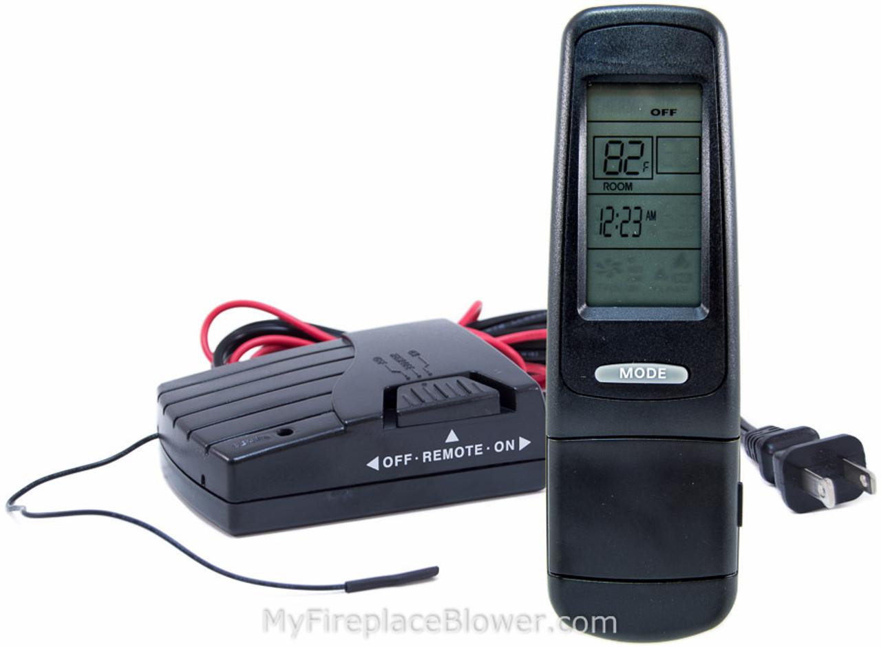 smart iii receiver control ii remote fireplace batt heat skytech n glo