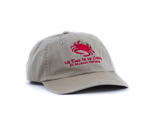 "St. Michaels ""No Time to be Crabby"" Cap"