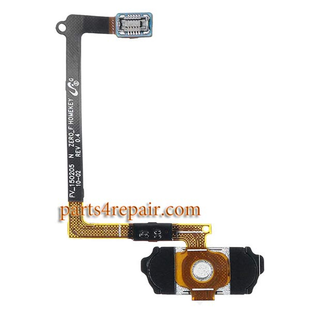 Home Button Flex Cable for Samsung Galaxy S6 All Versions -Black