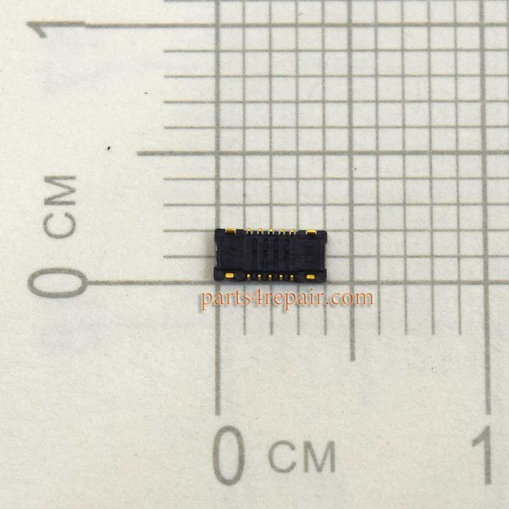 10pin Touch Screen FPC Connector for Meizu MX4 -5pcs