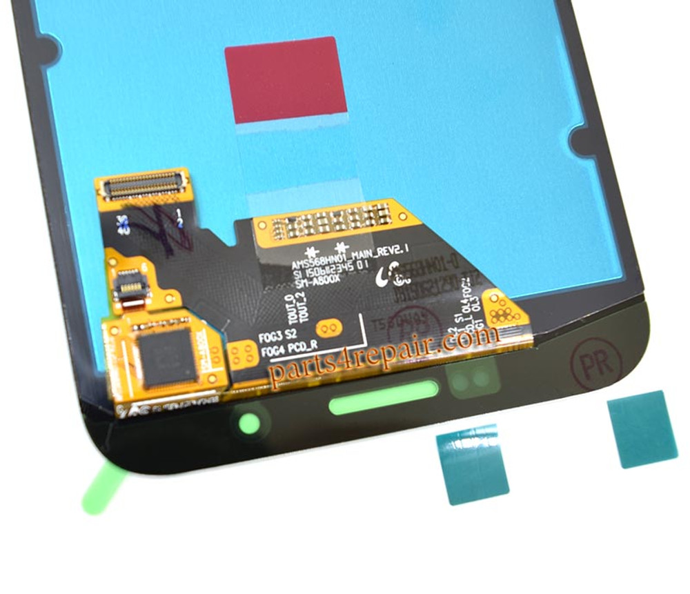 Complete Screen Assembly for Samsung Galaxy A8 -White