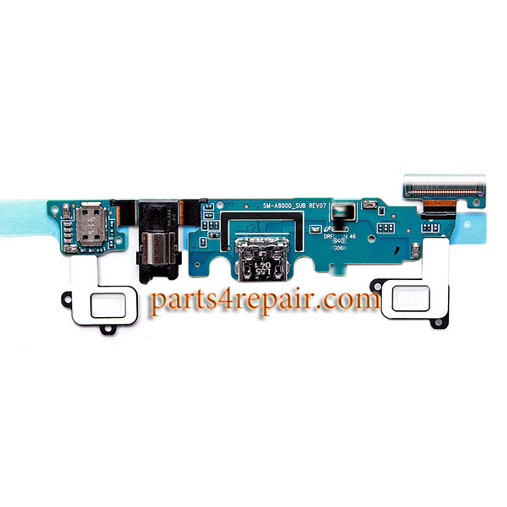 Dock Charging PCB Board for Samsung Galaxy A8 A8000 from www.parts4repair.com