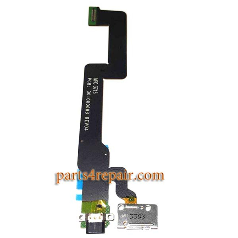 Dock Charging Flex Cable for Amazon Kindle Fire HDX from www.parts4repair.com