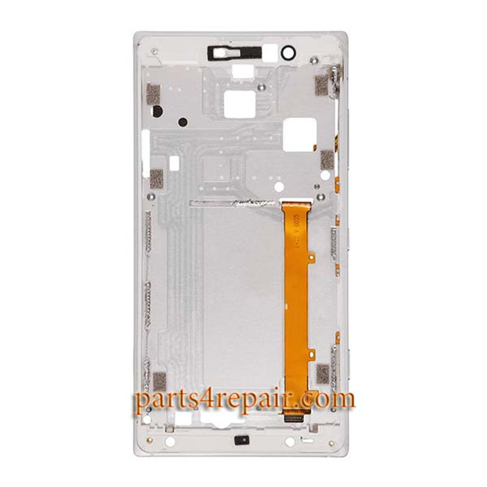 Front Housing Cover with Side Keys for Nokia Lumia 830