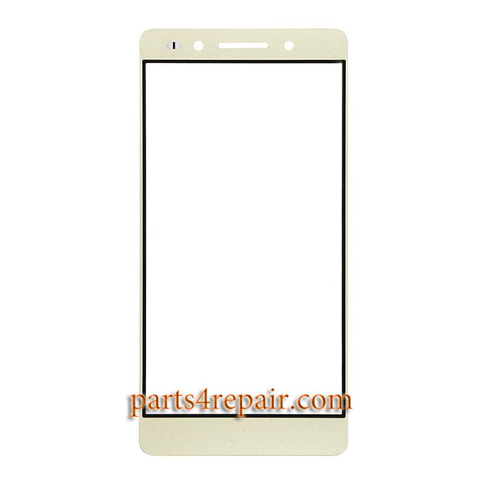 Front Glass OEM for Huawei Honor 7 -Gold