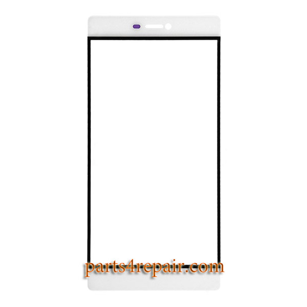 Front Glass OEM for Huawei P8 -White